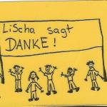 Lischa sagt Danke